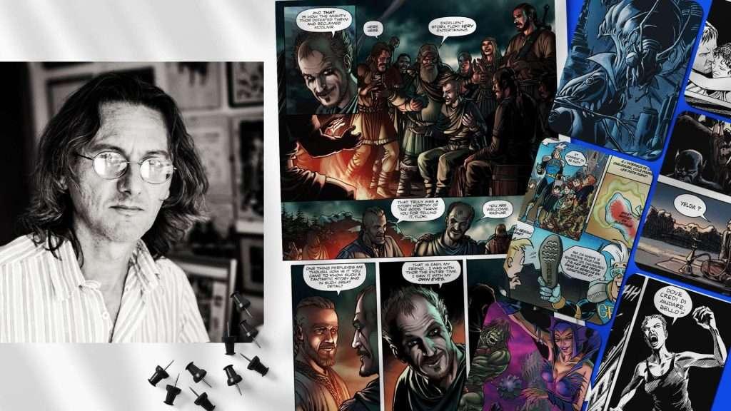 Giualino Piccininno - Come si diventa fumettista - Journal Dalì Arts